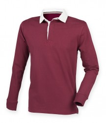 Image 4 of Front Row Premium Superfit Rugby Shirt