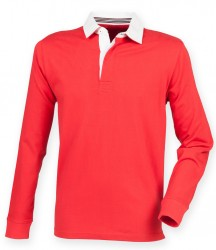 Image 6 of Front Row Premium Superfit Rugby Shirt