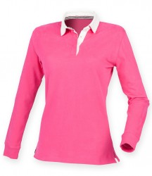 Image 3 of Front Row Ladies Premium Superfit Rugby Shirt