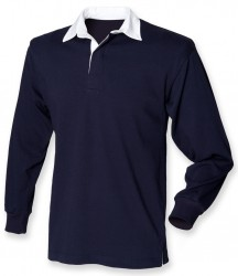 Image 3 of Front Row Kids Classic Rugby Shirt