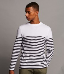 Front Row Long Sleeve Breton Striped T-Shirt image