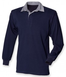 Image 6 of Front Row Original Rugby Shirt