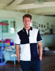 Front Row Quartered  Cotton Piqué Polo Shirt image