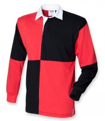Image 2 of Front Row Quartered Rugby Shirt