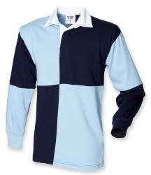 Image 4 of Front Row Quartered Rugby Shirt