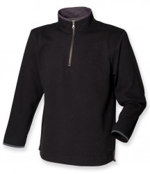 Image 2 of Front Row Collection Super Soft Zip Neck Sweatshirt