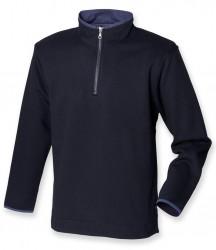 Image 3 of Front Row Collection Super Soft Zip Neck Sweatshirt