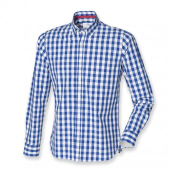 Image 3 of Front Row Long Sleeve Checked Cotton Shirt