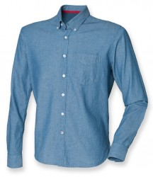 Image 2 of Front Row Classic Long Sleeve Chambray Shirt