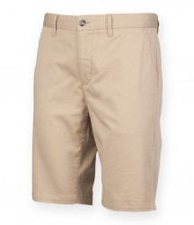 Image 3 of Front Row Ladies Stretch Chino Shorts