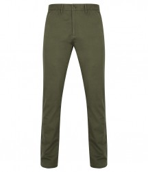 Image 4 of Front Row Stretch Chino Trousers