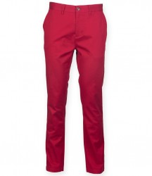 Image 2 of Front Row Stretch Chino Trousers