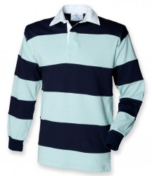 Image 3 of Front Row Sewn Stripe Rugby Shirt