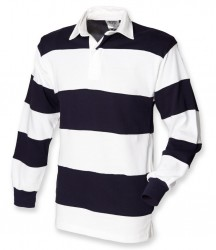 Image 4 of Front Row Sewn Stripe Rugby Shirt