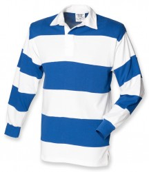 Image 5 of Front Row Sewn Stripe Rugby Shirt