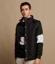 Front Row Diamond Quilted Gilet image