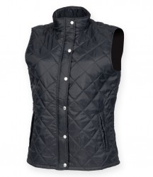 Front Row Ladies Diamond Quilted Gilet image