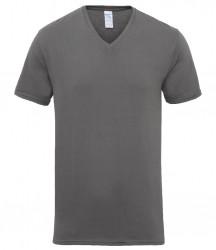 Image 3 of Gildan Premium Cotton® V Neck T-Shirt