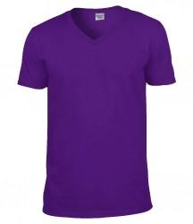 Image 4 of Gildan SoftStyle® V Neck T-Shirt