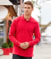 Gildan Long Sleeve Premium Cotton® Double Piqué Polo Shirt image