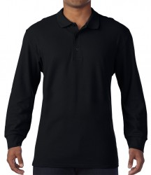 Image 2 of Gildan Long Sleeve Premium Cotton® Double Piqué Polo Shirt