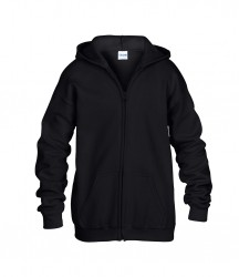 Image 2 of Gildan Kids Heavy Blend™ Zip Hooded Sweatshirt
