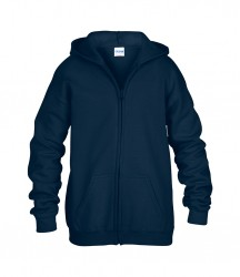 Image 4 of Gildan Kids Heavy Blend™ Zip Hooded Sweatshirt