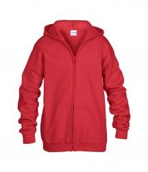 Image 8 of Gildan Kids Heavy Blend™ Zip Hooded Sweatshirt