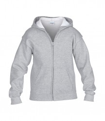 Image 7 of Gildan Kids Heavy Blend™ Zip Hooded Sweatshirt