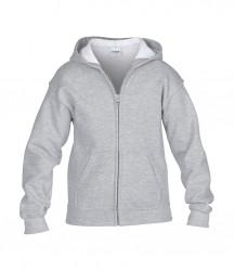 Image 10 of Gildan Kids Heavy Blend™ Zip Hooded Sweatshirt