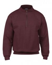 Image 3 of Gildan Heavy Blend™ Vintage Zip Neck Sweatshirt