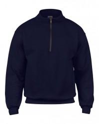 Image 4 of Gildan Heavy Blend™ Vintage Zip Neck Sweatshirt