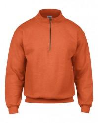 Image 5 of Gildan Heavy Blend™ Vintage Zip Neck Sweatshirt