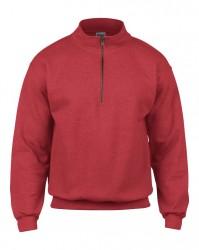 Image 6 of Gildan Heavy Blend™ Vintage Zip Neck Sweatshirt