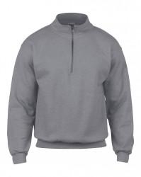 Image 8 of Gildan Heavy Blend™ Vintage Zip Neck Sweatshirt