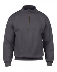 Image 9 of Gildan Heavy Blend™ Vintage Zip Neck Sweatshirt