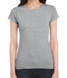 Image 26 of Gildan SoftStyle® Ladies Fitted Ringspun T-Shirt