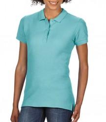 Image 3 of Gildan Ladies Premium Cotton® Double Piqué Polo Shirt