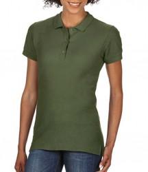 Image 14 of Gildan Ladies Premium Cotton® Double Piqué Polo Shirt