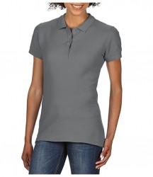 Image 11 of Gildan Ladies SoftStyle® Double Piqué Polo Shirt