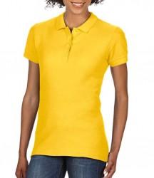 Image 12 of Gildan Ladies SoftStyle® Double Piqué Polo Shirt