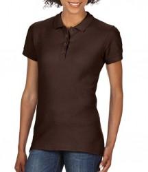 Image 13 of Gildan Ladies SoftStyle® Double Piqué Polo Shirt