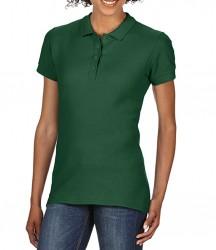 Image 14 of Gildan Ladies SoftStyle® Double Piqué Polo Shirt