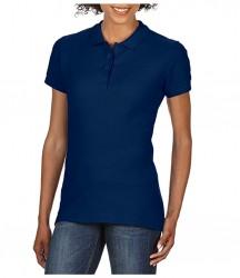 Image 2 of Gildan Ladies SoftStyle® Double Piqué Polo Shirt
