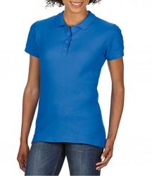 Image 5 of Gildan Ladies SoftStyle® Double Piqué Polo Shirt