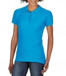 Image 6 of Gildan Ladies SoftStyle® Double Piqué Polo Shirt