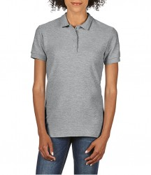 Image 7 of Gildan Ladies SoftStyle® Double Piqué Polo Shirt