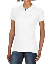 Image 8 of Gildan Ladies SoftStyle® Double Piqué Polo Shirt