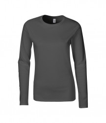 Image 7 of Gildan Ladies SoftStyle® Long Sleeve T-Shirt