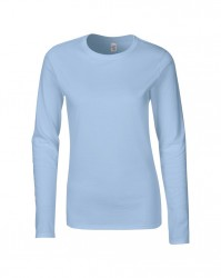 Image 6 of Gildan Ladies SoftStyle® Long Sleeve T-Shirt